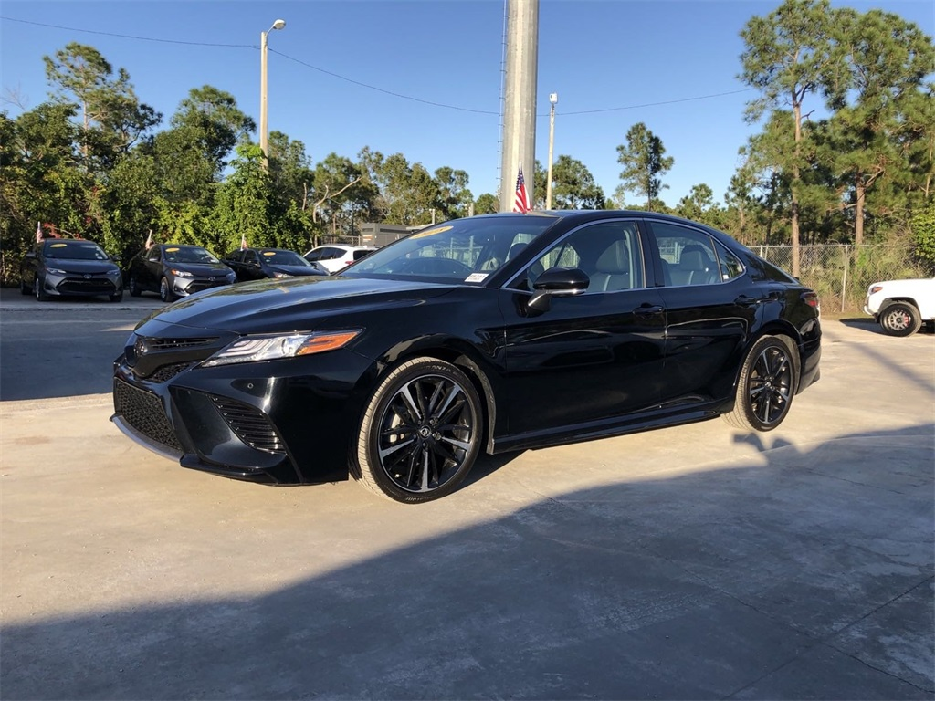 Pre-Owned 2018 Toyota Camry XSE