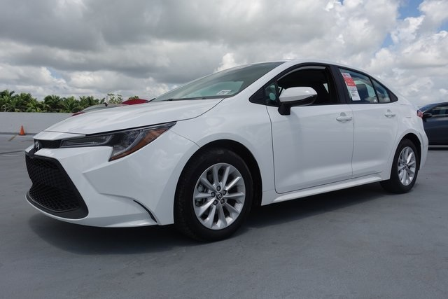 Toyota Of South Florida >> New 2020 Toyota Corolla Le Fwd 4d Sedan