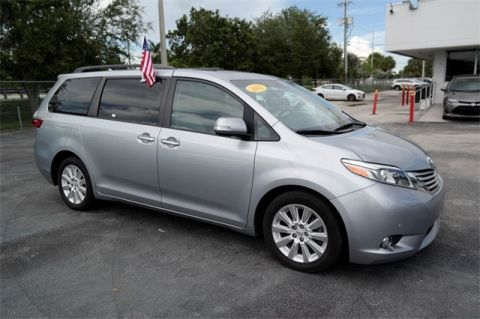 Certified Pre-Owned 2015 Toyota Sienna Limited